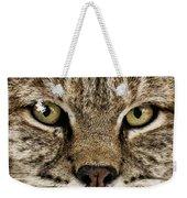 Bobcat Whiskers Weekender Tote Bag