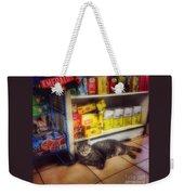 Bodega Cat - At Home In New York Weekender Tote Bag
