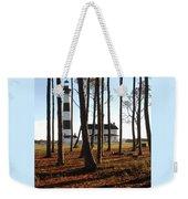 Bodie Island Light Through The Pines Weekender Tote Bag