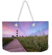 Bodie Island Obx Sunrise Weekender Tote Bag