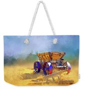 Bodie Ore Wagon Painted Weekender Tote Bag