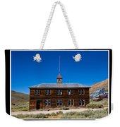 Bodie Schoolhouse Weekender Tote Bag