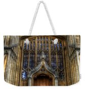Bodleian Library Door - Oxford Weekender Tote Bag by Yhun Suarez