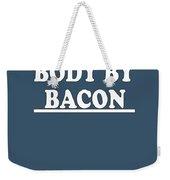 Body By Bacon Keto Diet Weekender Tote Bag