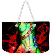 Body Paint 4 Weekender Tote Bag