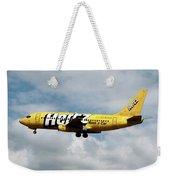 Boeing 737-204 Ryanair Weekender Tote Bag