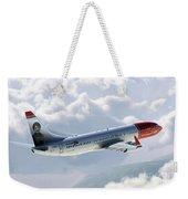 Boeing 737 Norwegian Air Weekender Tote Bag