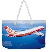 Boeing 747-8 Weekender Tote Bag