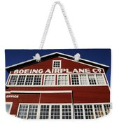 Boeing Airplane Hanger Number One Weekender Tote Bag