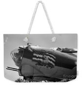 Boeing B-17g Flying Fortress Nose Art Weekender Tote Bag