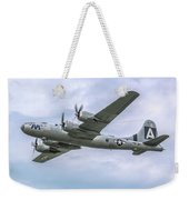 Boeing B-29 Superfortress Fifi In Flight Weekender Tote Bag