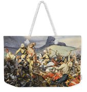 Boers And Natives Weekender Tote Bag