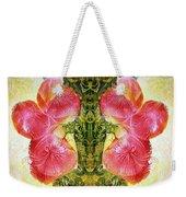 Bogomil Anniversary Flower - Digital Weekender Tote Bag