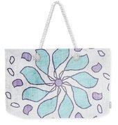 Boho Floral Mandala 4- Art By Linda Woods Weekender Tote Bag