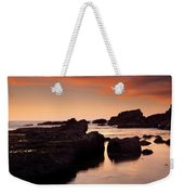 Boiler Bay Sunset Weekender Tote Bag