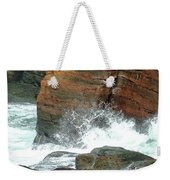 Boiler Bay Waves Weekender Tote Bag