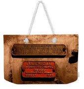 Boilerplates Weekender Tote Bag