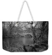 Boiling Springs Stone Bridge Weekender Tote Bag