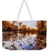 Boise River Autumn Glory Weekender Tote Bag
