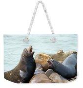 Boisterous Pinnipeds Weekender Tote Bag