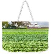Bok Choy Field And Farm Weekender Tote Bag