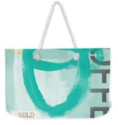 Bold And Strong In Blue- Art By Linda Woods Weekender Tote Bag