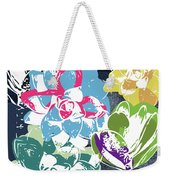 Bold Succulents 2- Art By Linda Woods Weekender Tote Bag