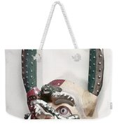 Bolivia: Native Mask Weekender Tote Bag