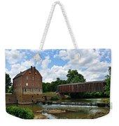 Bollinger Mill And Covered Bridge Weekender Tote Bag