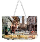 Bologna Artworks Of The City Hanging In  Weekender Tote Bag