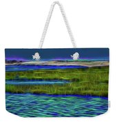 Bolsa Chica Wetlands I Abstract 1 Weekender Tote Bag