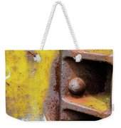 Bolted Iron Weekender Tote Bag