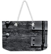 Bolted Wood Weekender Tote Bag