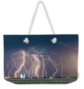 Bolts Over Bushland Weekender Tote Bag