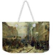 Bombardment Of Paris In 1871 Weekender Tote Bag