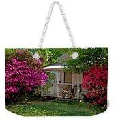 Bon Secour Pink Porch Weekender Tote Bag