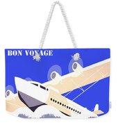 Bon Voyage 1 Weekender Tote Bag