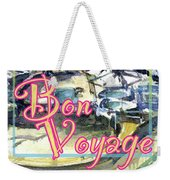 Bon Voyage Cruise Weekender Tote Bag