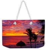 Bonaire Sunset 1 Weekender Tote Bag