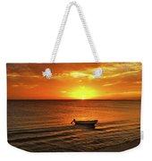 Bonaire Sunset 4 Weekender Tote Bag