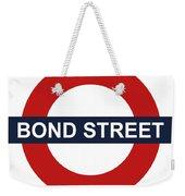 Bond Street Weekender Tote Bag