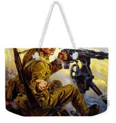 Ammunition  - Bonds Buy Bullets Weekender Tote Bag