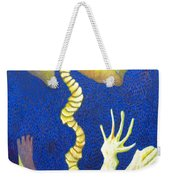 Bone Rocket Tilt Weekender Tote Bag
