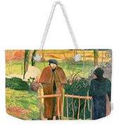 Bonjour Monsieur Gauguin Weekender Tote Bag