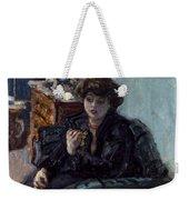 Bonnard: Lady, 19th C Weekender Tote Bag