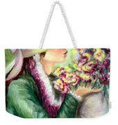 Bonnet Of Flowers Weekender Tote Bag