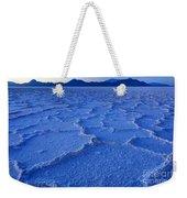 Bonneville Salt Flats At Dusk Weekender Tote Bag