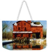 Bonneyville In Winter Weekender Tote Bag