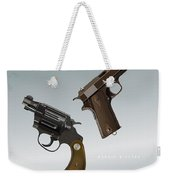 Bonnie And Clyde - Alternative Movie Poster Weekender Tote Bag