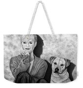 Bonnie Hunt And Charlie Weekender Tote Bag